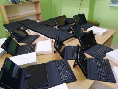 25 nowych tabletów w Szkole Podstawowej nr 1 im. Świętej Królowej Jadwigi